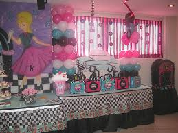 party tales birthday party 50 u0027s diner sock hop party part 1