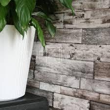 rustic scrapwood reclaimed wood wallpaper grey beige natural tones