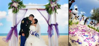 Wedding Archway Hawaii Beach Weddings Custom Designed Alters On Oahu