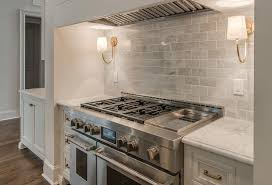 beautiful kitchen backsplashes reed single sconces on gray marble backsplash stove cottage