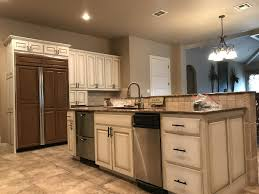 how to freshen up stained kitchen cabinets cabinet painting refinishing in san antonio profresh