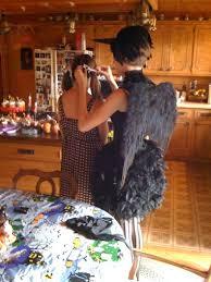Raven Halloween Costume Male Black Raven Costume
