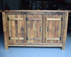 how to make a buffet table rustic buffet etsy