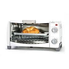 Under Cabinet 4 Slice Toaster Rival 4 Slice Toaster Oven White Walmart Com