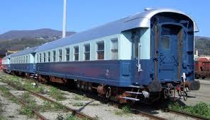 carrozze treni treno azzurro scalaenne note sparse treni ferrovie e loro