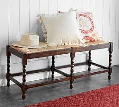 entry way storage bench entryway storage benches pottery barn