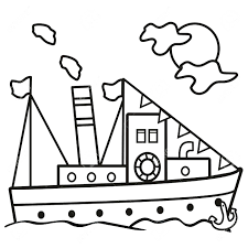 coloring pages boat coloring boat coloring in boat coloring