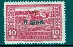 siege social mnh worldwide wholesale postage stamps albania 1924 cros mnh sg