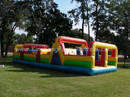 moonwalks in houston kingkongpartyrentals moonwalks 40ft mega obstacle course