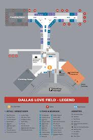 Dfw Terminal Map Dallas Love Field Airport Reviews Terminal Map Online Travel