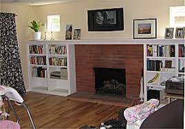 custom fireplace mantel and surround