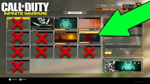 all new secret infinite warfare special ops calling cards 6 out