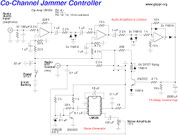 jammer circuits remote jammer circuit using ic 555 gadgetronicx