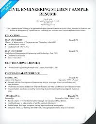 good resume exles for internships engineering student resume exles good resume for civil engineer