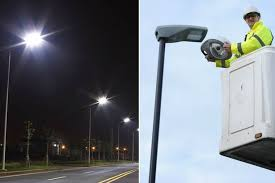 how do street lights work work is due to begin on installing more than 13 000 street lights on