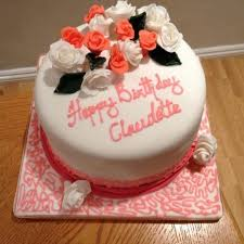 pink white flower birthday cake local lancashire 2 chefs passion