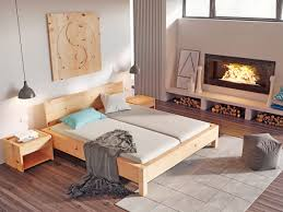 Schlafzimmer Zirbe Zirbenschlafzimmer Mit Zirbenbett