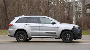 trackhawk jeep engine 2018 jeep grand cherokee trackhawk spy photo motor1 com photos