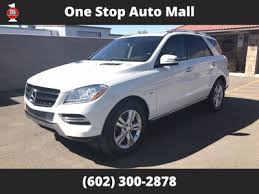 mercedes suv 2012 models used mercedes m class at one stop auto mall serving az