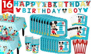 mickey mouse birthday party mickey mouse 1st birthday party supplies party city