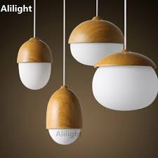 Modern Hanging Lights by Online Get Cheap Hanging Glass And Wood Lamps Aliexpress Com