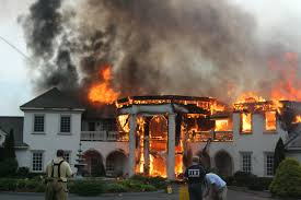 pictures fire destroys multi million dollar middlebury mansion