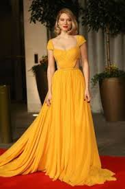 celebrity yellow dresses for women celebs inspired yellow formal