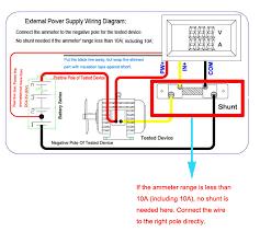 buy cheap dc 100v 10a voltmeter ammeter blue red led dual