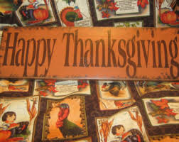 happy thanksgiving signs thanksgiving signs etsy