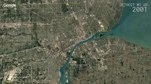 Google Map Of Michigan by Google Timelapse Detroit Michigan Us Youtube