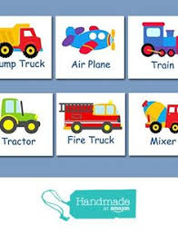 Transportation Nursery Decor Transportation Wall City Vehicles Theme Cars Nursery Decor