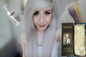 silver hair extensions silver white hair ft vpfashion hair extensions