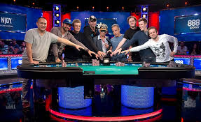 wsop final table the nine from 6 737 to 9 final table set for world series of poker in las