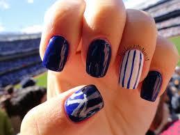 hey look at my nails happy fall new york yankees nail art