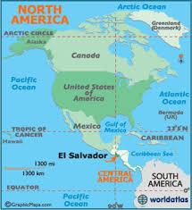 south america map buy el salvador map geography of el salvador map of el salvador