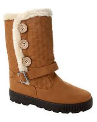womens quilted boots uk womens quilted fur lined mid calf sole winter boots
