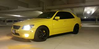 lexus is300 black lemon