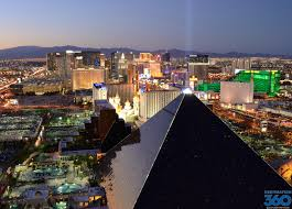 Pyramids In America Map by Luxor Las Vegas