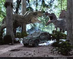 jurassic park car movie the lost world