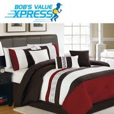Red Bedding Red Comforter Sets Bedding Bob U0027s Discount Furniture