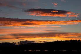 Sunset Orange by Free Picture Orange Clouds Dark Clouds Nature Landscape