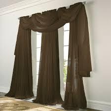 elegance voile beige sheer curtain bedbathhome com