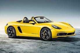 silver porsche boxster 2017 porsche 718 boxster 718 cayman exclusive detailed photos