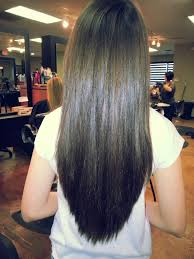 long layered v cut this is a perfect long v shaped long layered