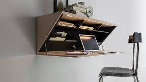 Wall Desk Folding by Best Wall Mounted Desk Designs For Small Homes