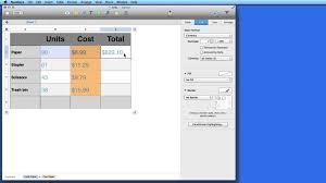 Mac Spreadsheet Program Mac How To Basic Formulas U0026 Functions In Numbers Youtube