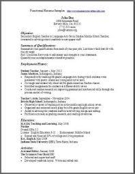sle functional resume resume sle jamaica 28 images exle resume sle resume car 28