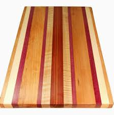 buy a hand made exotic wood cutting board double sided made to