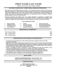Consultant Resume Samples by Oil Field Consultant Resume Template Premium Resume Samples
