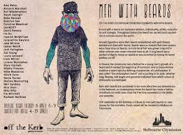 men with beards exhibition press release polydesign studio